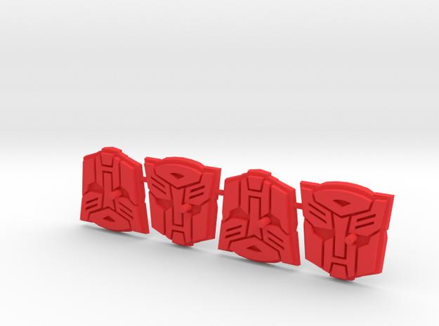 Titan Master Autobot Symbol Stands (4)