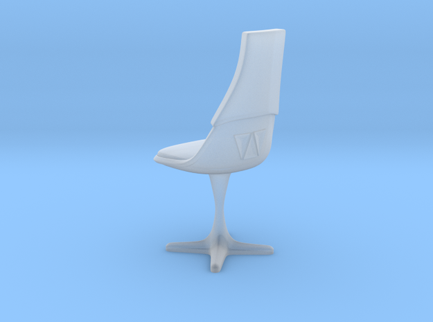 TOS Burke Chair Ver. 2 (Thin) in Smooth Fine Detail Plastic: 1:72