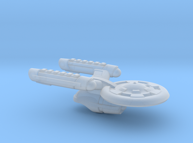 Terran(Early) Intrepid Class Cruiser - 1:7000 in Smooth Fine Detail Plastic