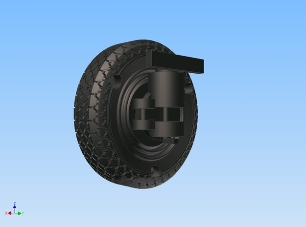 1-56 Pirelli Superflex Tire 3d printed