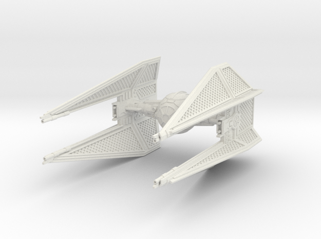 TIE Interceptor Royal Guard in White Strong & Flexible