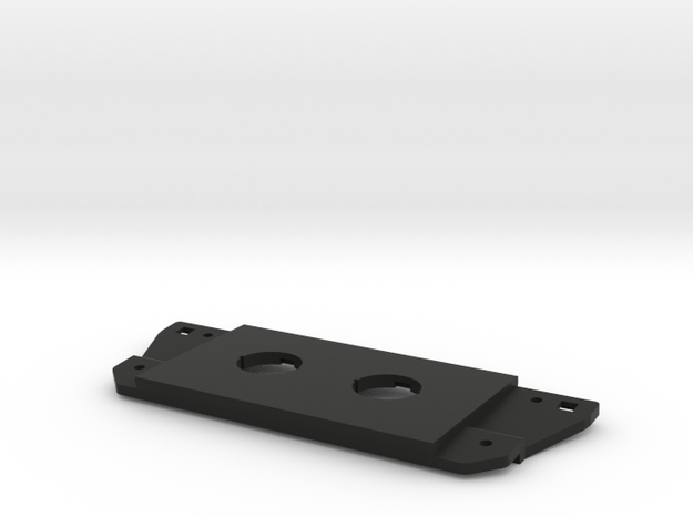 3rd Gen Toyota Tacoma Switch Plate For Round Rigid in Black Natural Versatile Plastic