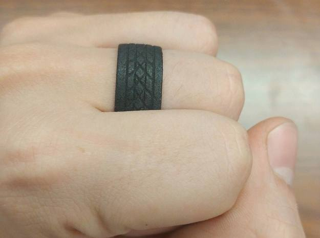 Tire Ring in Black Strong & Flexible: 10 / 61.5