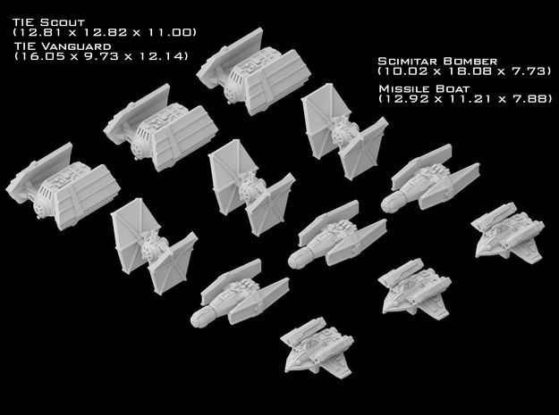 (Armada) Imperial Fighters Set III