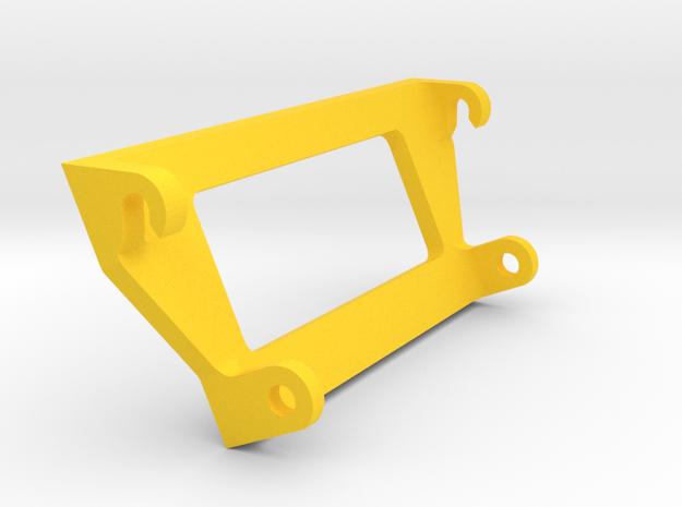 weise toys Stoll Frontlader Adapter in Yellow Processed Versatile Plastic