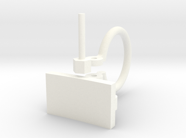 Whirlwind Tie Down Complete  in White Processed Versatile Plastic