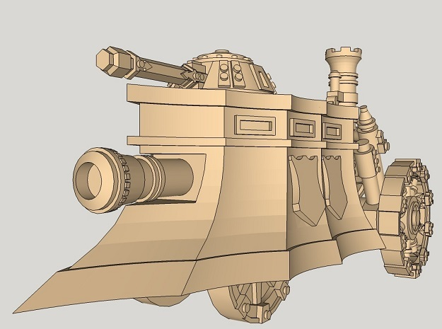 10mm Imperial Steam Tank