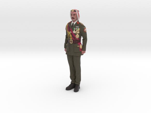 Bedouin Arab Officer in Full Color Sandstone