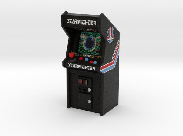 """3 3/4"""" Scale Last Starfighter Arcade Game in Full Color Sandstone: Medium"""