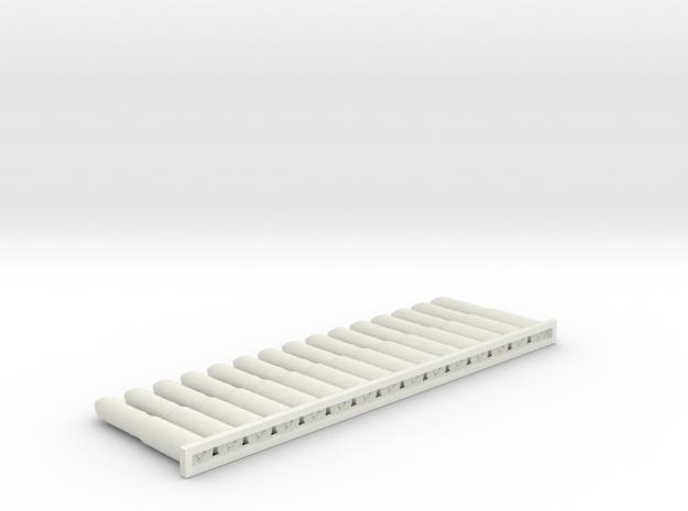 MG151 20x92 15shells 1:6 in White Natural Versatile Plastic