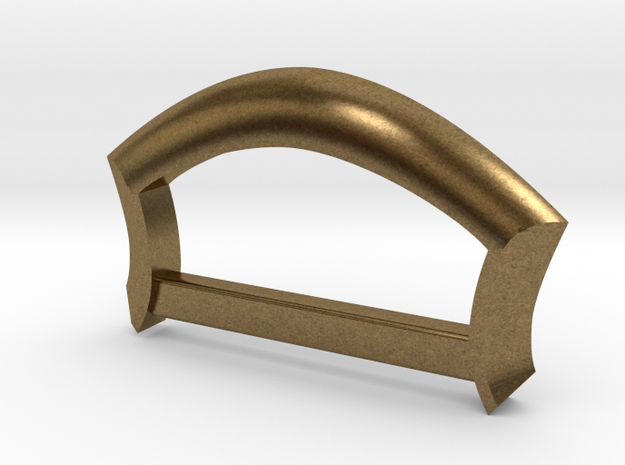 "Strap Anchor - 1"" strap in Raw Bronze"