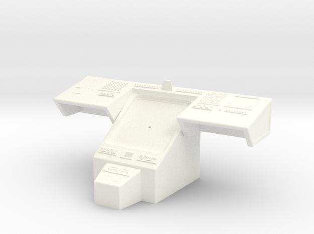 Bridge - Helm Nav Station 12 in White Processed Versatile Plastic