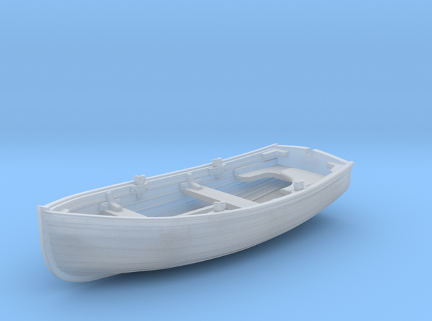 1/144 Scale Allied 10ft Dinghy in Smoothest Fine Detail Plastic