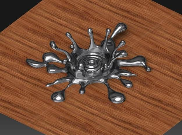 Water Crown Chopsticks stand 3d printed Description