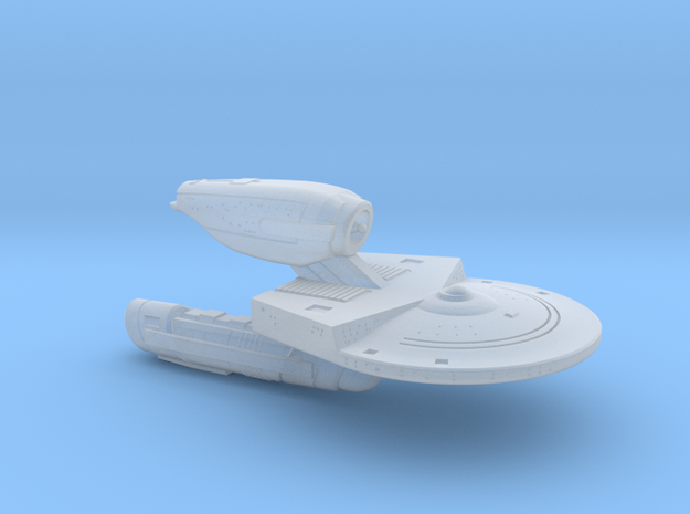 Terran Rankine Class Science Cruiser - 1:7000 in Frosted Ultra Detail