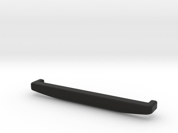 TF2 High Approach Body Mount Bumper (Front) in Black Natural Versatile Plastic
