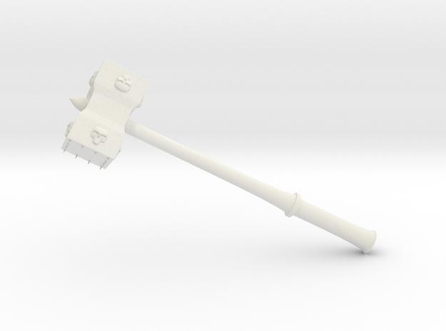 Hammer Stonetowers in White Natural Versatile Plastic: Small