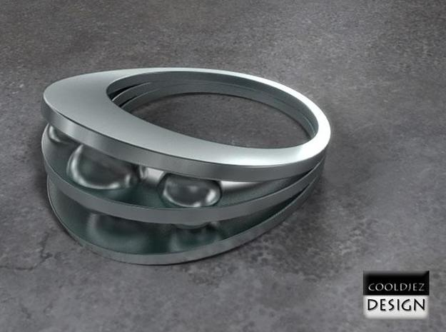 Ring - Bend3 3d printed Render