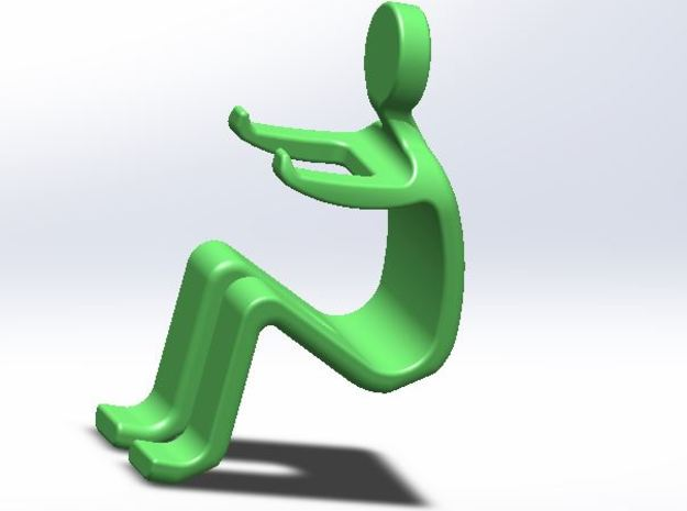 SMARTPHONE STAND in Green Strong & Flexible Polished