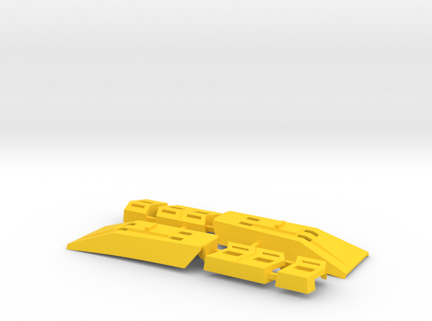 "Omega Supreme Leg Clips or ""shields"" - Finish off"