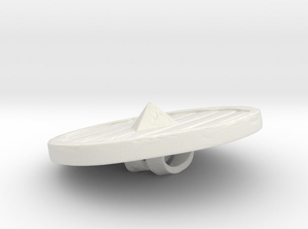 Woodenshield from Stonetowers in White Strong & Flexible: Small