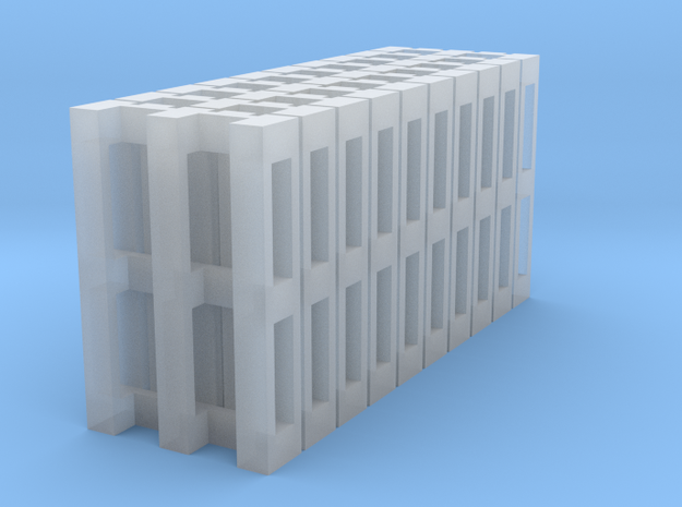 10x Europallets N-scale in Smooth Fine Detail Plastic