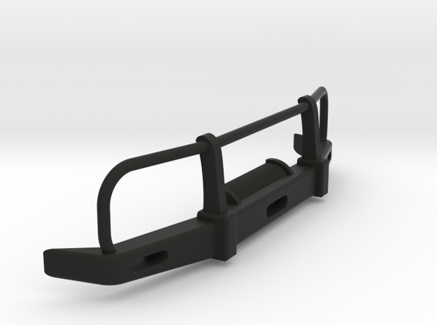RC Toyota Hilux Bullbar 1:10 scale in Black Natural Versatile Plastic