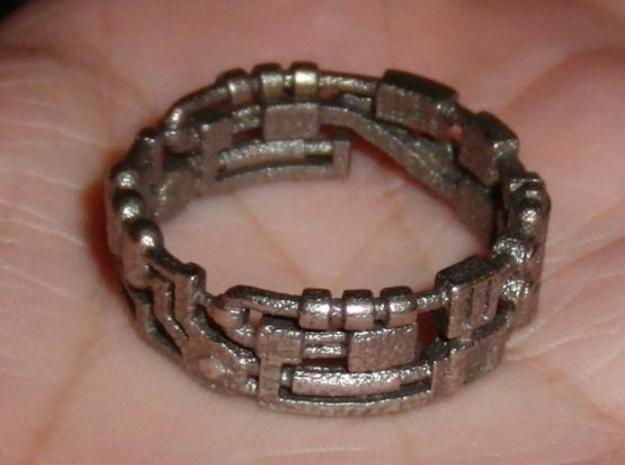 Mecha Ring (size 15ish in metal)