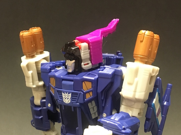 Titans Return Triggerhappy to Swoop Helmet in Blue Strong & Flexible Polished