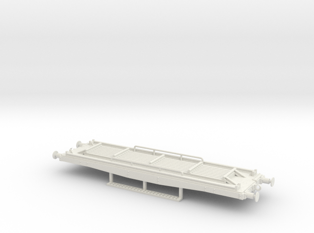 Flat wagon for yard workers use in White Strong & Flexible