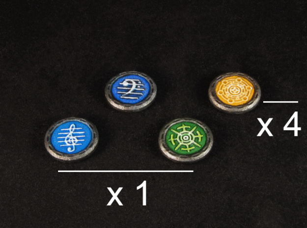 Descent Image, Song, Tracking tokens (7 pcs)