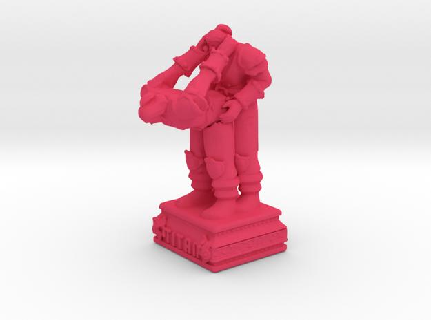 TITANLOVE  in Pink Processed Versatile Plastic
