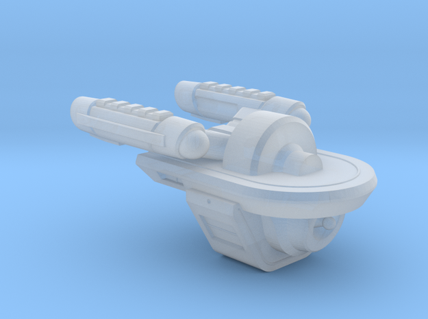 Terran Wotan Class Automated Transport - 1:7000 in Frosted Ultra Detail