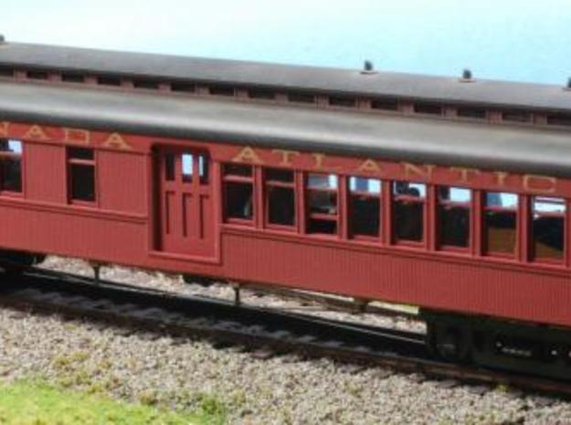1st/2nd Baggage Car 3d printed Description
