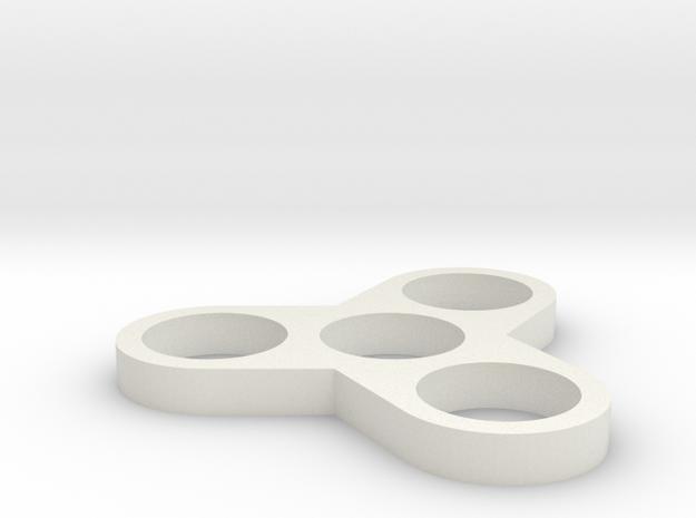 RoundSpinnerV3 in White Strong & Flexible