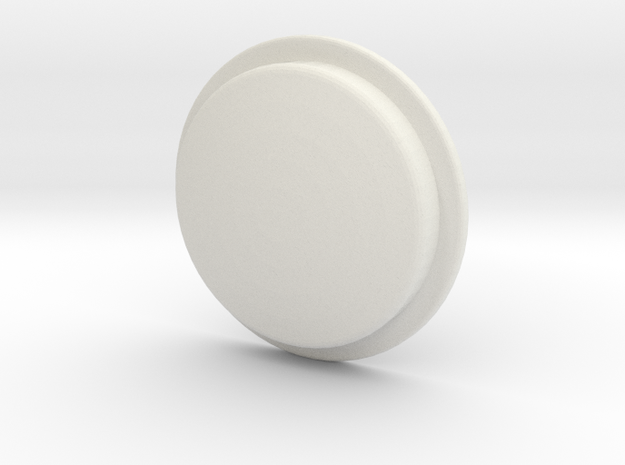 TLF# -  Shabby Button in White Strong & Flexible