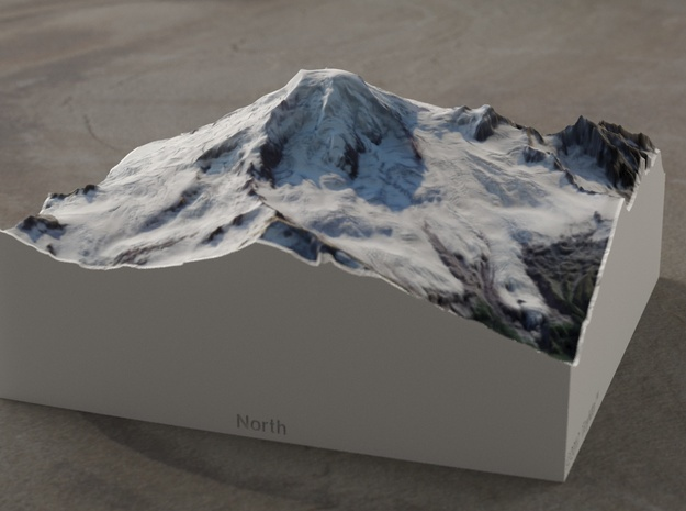 Mt. Baker, Washington, USA, 1:50000 Explorer