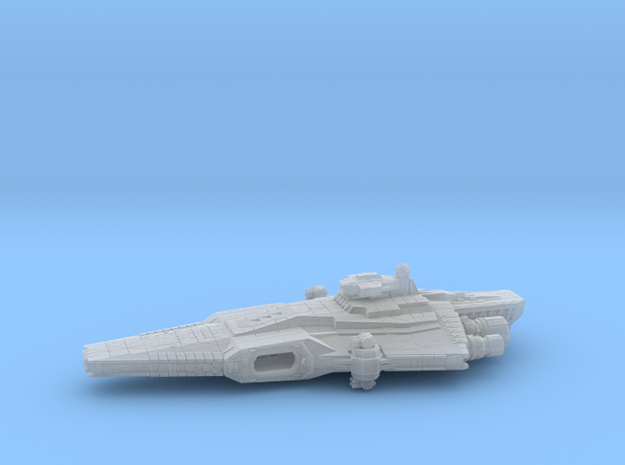 Warden Class ESPO Customs Frigate (armada) in Smoothest Fine Detail Plastic