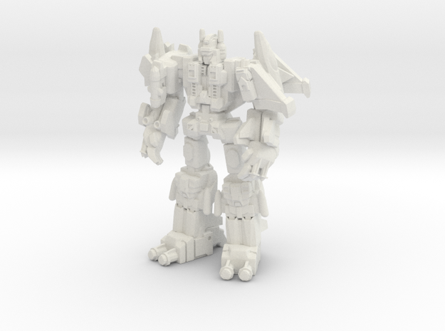 Superion (G1) Miniature in White Natural Versatile Plastic: Medium