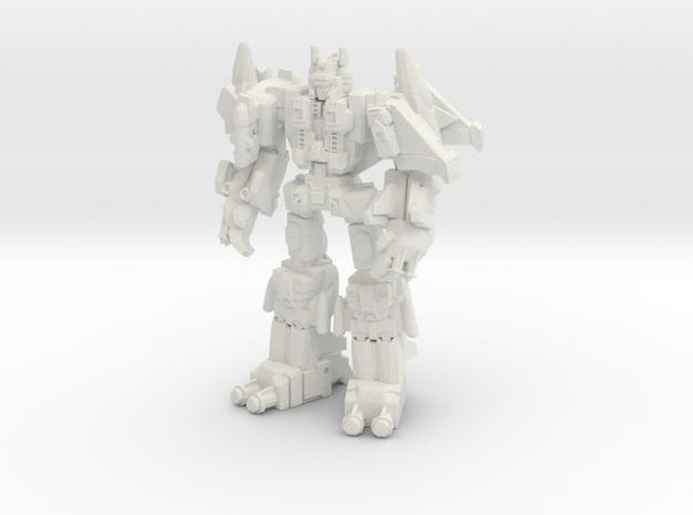 Superion (G1) Miniature in White Natural Versatile Plastic: Medium
