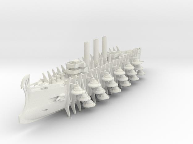 1/700 Trireme Airship Khrodanau in White Natural Versatile Plastic