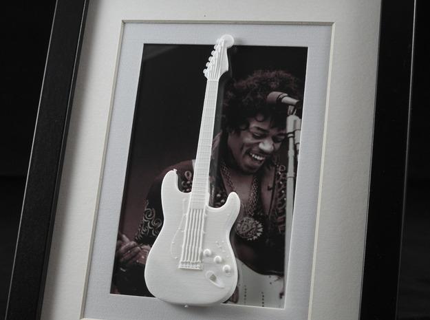 Stratocaster guitar for photo frame