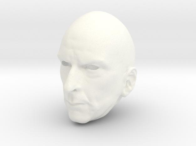 MnM Capaldi 012 FRONT 03 in White Processed Versatile Plastic
