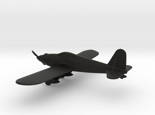 Curtiss XP-31 Swift in Black Natural Versatile Plastic: 1:108
