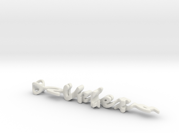 Twine Velez/Santana in White Natural Versatile Plastic