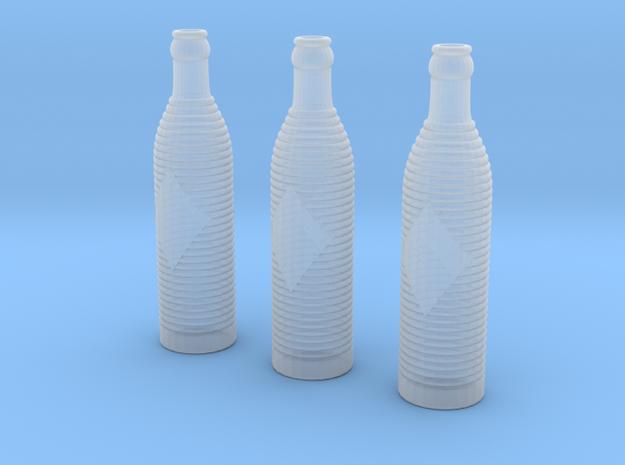 Orange Crush Soda Bottles in Smoothest Fine Detail Plastic