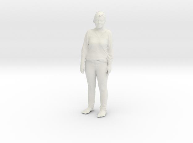 Printle C Femme 081 - 1/20 - wob in White Natural Versatile Plastic