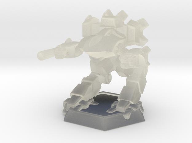 Mecha- Guardian II (1/937th) in Transparent Acrylic