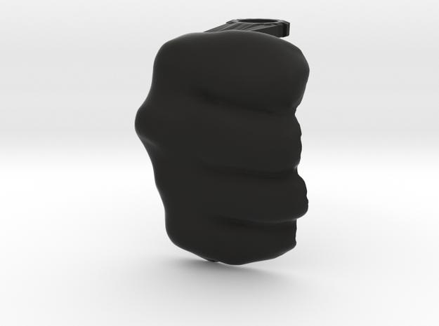 Bare Knuckle Shield Right in Black Natural Versatile Plastic