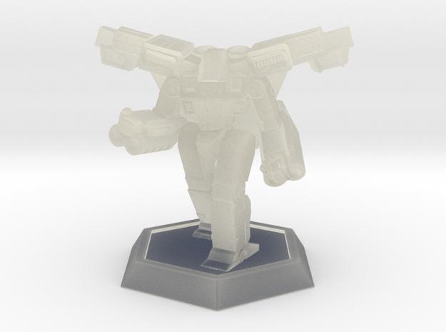 Mecha- Crusher LAM (1/937th) Mech in Transparent Acrylic